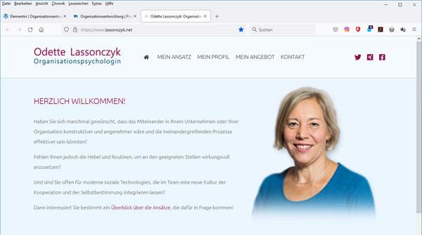 Homepage Lassonczyk